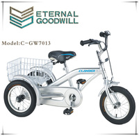 2015 hot sale 3 wheel 12 inch cargo tricycle / trike / bike / bicycle for child GW 7013