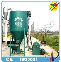 Low price CE poultry feed grinder mixer