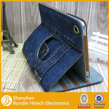 for iPad mini stylish Jeans cover Case
