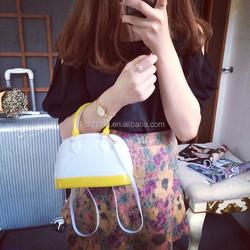 Guangzhou PVC Leather Candy Bags, Fashion Jelly Handbag for Women Bags