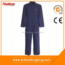 Oil Field /Boilersuit cotton workwear FR coverall flame retardant coverall fire retardant overall