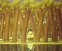 fat tree Famous Artist Fernando Botero oil painting 57681