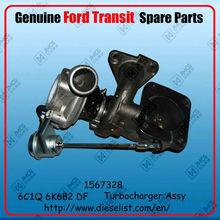 Genuine Transit V348 spare parts 6C1Q 6K682 DF transit turbocharger Finish:1567328