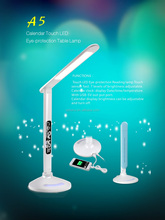 LED Light Source and Pure White Color Temperature(CCT) LED portable table lamp
