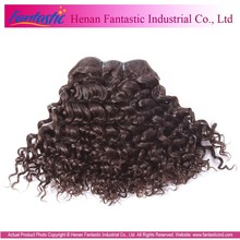 wholesale top quality full cuticle brazilian tight curl remy hair weave