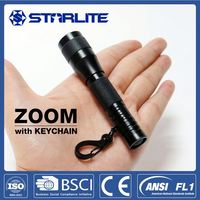 STARLITE Prompt Goods IPx4 Weather Proof usb keyring 3.6V 80mAh small cheap 1 white light Led Keychain