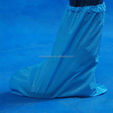 High quality Cheap workplace safety supplies plastic waterproof CPE rain boot covers