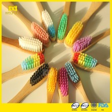 EC TUV LGA Free sample OEM 100% biodegradable promotion disposable hotel bamboo toothbrush