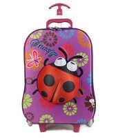 2015 new design eva kids 3D trolley bag Child school trolley bag