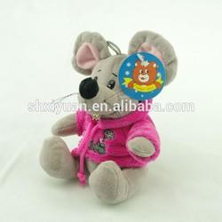 Custom made plush mouse/stuffed mouse mini toys/grey mouse plush toys