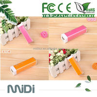 2600mAh Portable Charge Phone / Lipstick Power Bank / Mobile Battery Charger