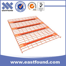 Mesh shelf warehouse wire deck racking system for cargo equipment
