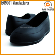 Reusable Silicone rubber non-slip shoe covers galoshes overshoes designed to shield your shoes from rain, snow