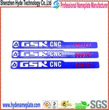 custom embossed sticker,manufacture metal sticker 3m