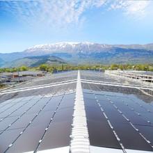 Hanergy 60KW off gird thin film solar cell generator pv solar panel price