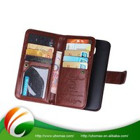 Top Class Custom Color Flip Leather Case Cover For Iphone 5