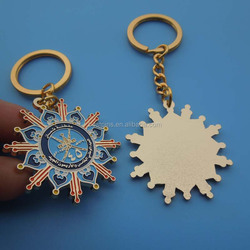 hot sale Oman high quality gold keychain national day gifts keyring