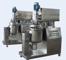 temperature control food emulsifying and homogenizer plant machine