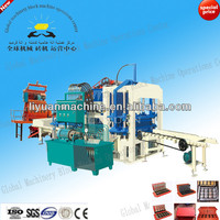 QT4-20 semi-automatic sawdust pallet block making machine