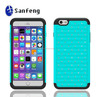 Slim fit phone case for Iphone 6 plus 5.5 inch cheap phone cases with diamond