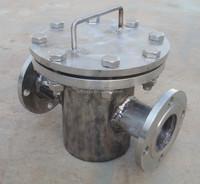 Magnetic trap for liquid line