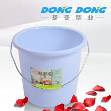 2015 best selling factory promotion price trade assurance OEM PE plastic bucket for ice-cream