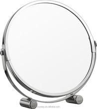 Latest fashion bathroom table enlarge mirror