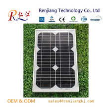High Efficiency 30W Grade A soalr panel factory low price mini solar panel