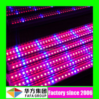 Hot sell SMD 1200mm 18w red blue integrated T8 led grow tube light