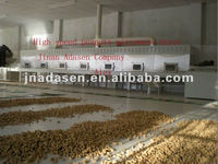 Fast Onion dryer/Microwave dryer/Tunnel type microwave potato chips dryer