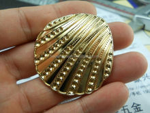 New style of brooch hight quality custom shell set auger brooch made in shishi
