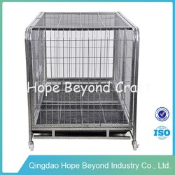 Pet cages steel large dog cage for sale