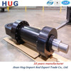 The metallurgical equipment hydraulic cylinder with a buffer device