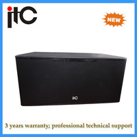 High-end hot 18 inch professional subwoofer speaker box design