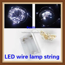 large vine light LED copper wire string with timbo shape