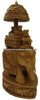 Animal Shaped Wood Carving Art Crafts