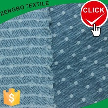 Promotional polyester knit jacquard fabric