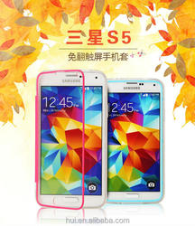 factory provide high quality TPU material phone case for samsung s5 phone case