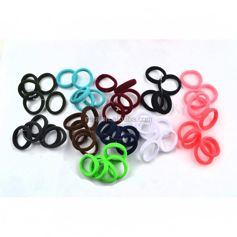 Fabric Elastic Hair Bands Wholesale Fabric Elastic Hair