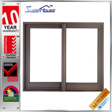 2015 Popular aluminum sliding window and door with AS2047 standard