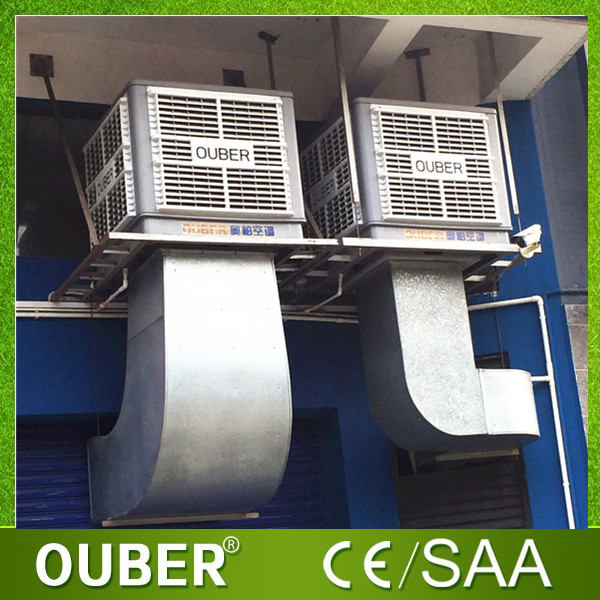 Wall Mount Evaporative Cooler : Ouber plastic evaporative cooler wall mounted swamp