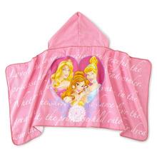 Animal Print Butterfly Baby towel hooded Poncho kids beach towel