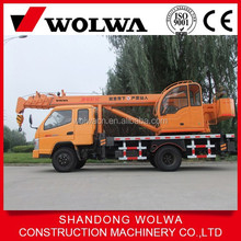 6t quick swing speed small mobile truck crane for sale
