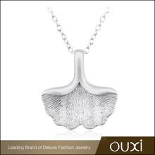 OUXI Wholesale china jewelry pendant ebay silver necklace