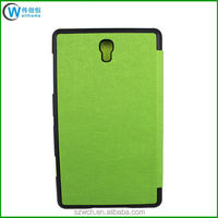 Smart Cover Stand Design Leather Folio Case for Samsung Galaxy Tab S 8.4