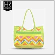 HR-11299 wholesale professional hot selling fish printing tropical beach bags