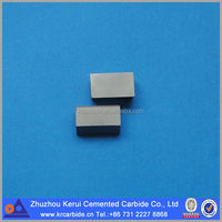 Tungsten Carbide Cutter Blade Type C Brazed Inserts / Tips