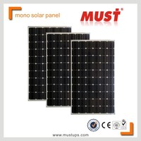 Mono Solar Panels/factory made in China monocrystalline 300w solar panel MONO