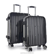 2015 abs+pc baoding three birds hard shell eminent business trolley luggage for man