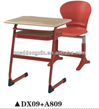 comfortable single table and chair DX09+A809